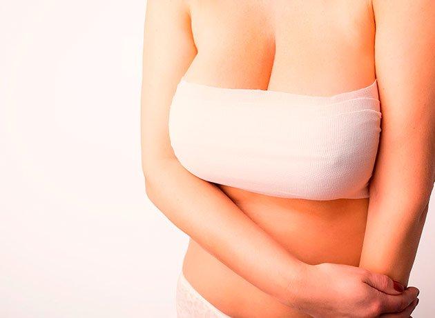 Paciente en valoración para una reducción de senos.