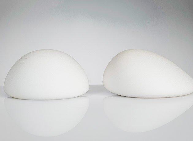tipos aumento de senos o tipos de implantes mamarios